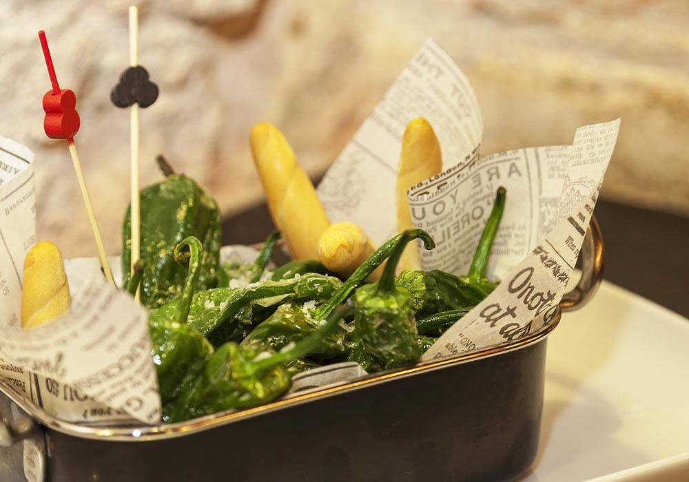 TAPA - Padron green peppers
